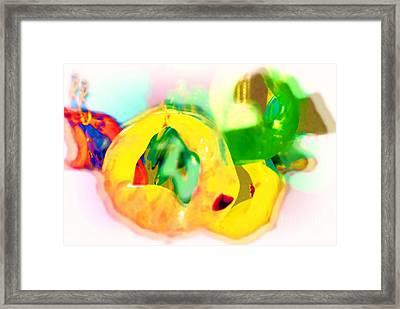Cluster Framed Print by Deborah MacQuarrie-Selib