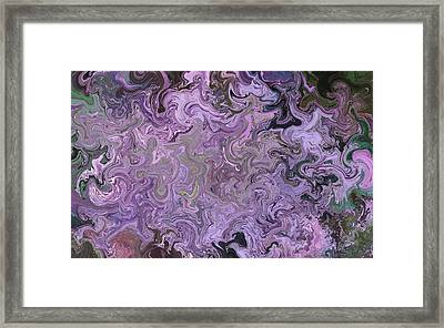 Clutter Framed Print by April Cook