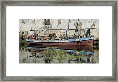 The Cluttered Craft Framed Print