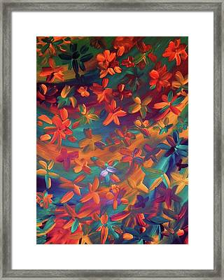 Framed Print featuring the painting Clysp by Cyryn Fyrcyd