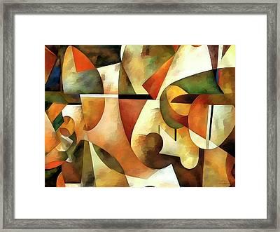 Cm1284 Framed Print by Celito Medeiros