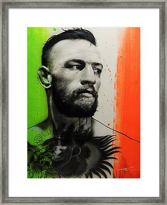 Conor Mcgregor - ' C. M. G. ' Framed Print