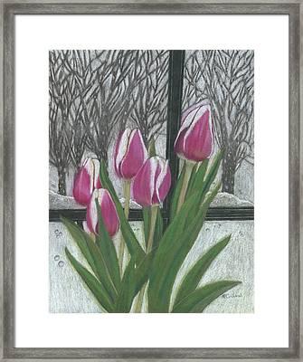 C'mon Spring Framed Print by Arlene Crafton