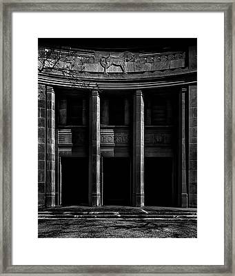Framed Print featuring the photograph Cne Horse Palace Toronto Canada by Brian Carson