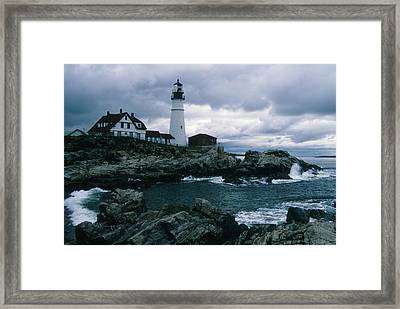 Cnrg0601 Framed Print by Henry Butz