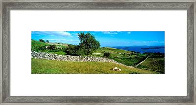 Co Galway, Connemara, Lough Corrib Framed Print by The Irish Image Collection