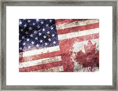 Co-patriots  Framed Print by Az Jackson