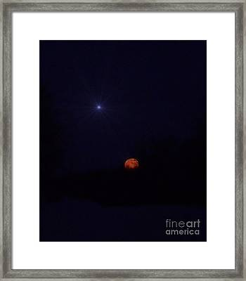Co-starring Framed Print by The Stone Age