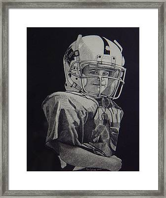 coach am I up Framed Print by Ron Sylvia