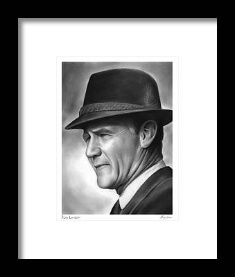Coaches Framed Prints