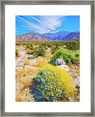Coachella Spring Framed Print by Dominic Piperata