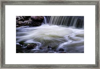 Coal Creek Colorado 1 Framed Print by Marilyn Hunt
