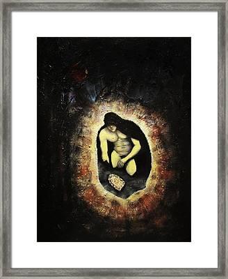 Coal Hades  Framed Print by Aleksei Gorbenko
