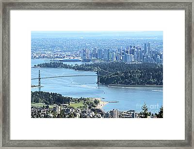 Coal Harbour Framed Print