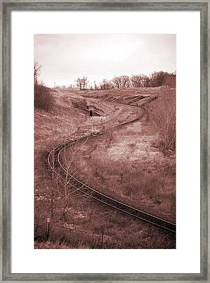 Coal Line S Framed Print by Jame Hayes