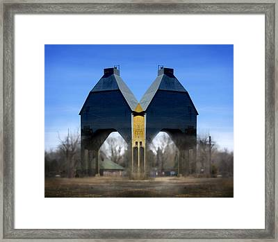 Coal Loader New Buffalo Framed Print