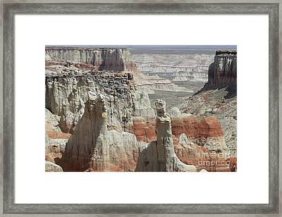Coal Mine Canyon, Az Framed Print by Felix Lai