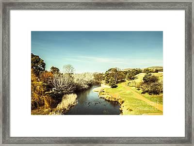 Coal River Valley Framed Print