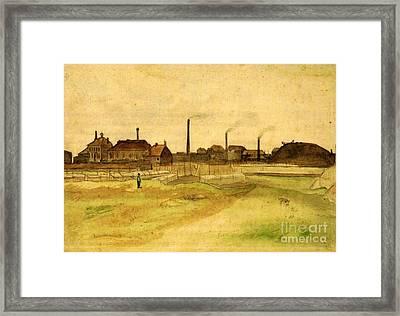 Coalmine In The Borinage Framed Print