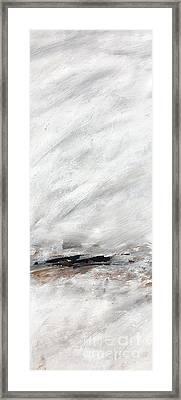 Coast #14 Ocean Landscape Original Fine Art Acrylic On Canvas Framed Print