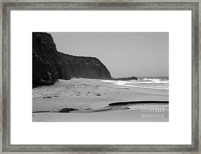 Coast  Framed Print by Amanda Barcon