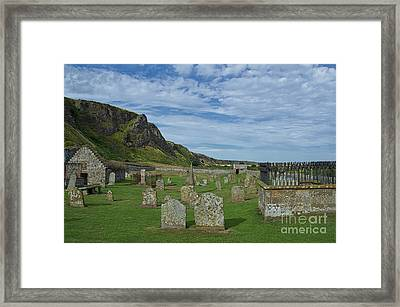 Coast Graveyard Framed Print