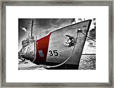 Coast Guard Framed Print by Alessandro Giorgi Art Photography