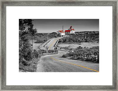 Coast Guard Beach Framed Print by Dapixara Art