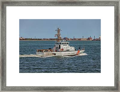 Coast Guard Cutter Flyingfish Framed Print by Brian MacLean