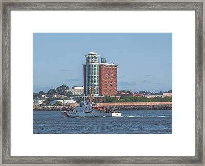 Coast Guard Cutter Tybee Framed Print by Brian MacLean
