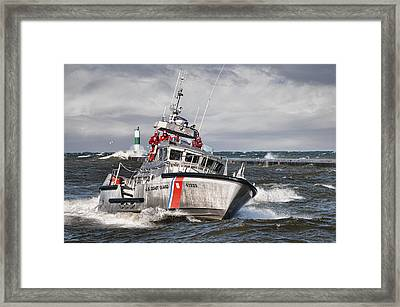 Coast Guard Framed Print by Wade Aiken