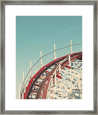 Coast - California Coaster Framed Print