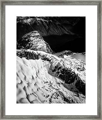 Coast Mountain Spring Framed Print