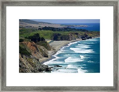 Coast Near Ragged Point Framed Print