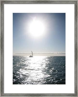 Coast Of Chicago Framed Print by Debra LePage
