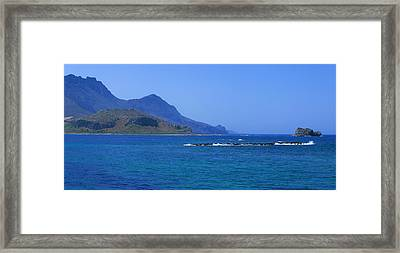 Coast Of Gramvousa Framed Print