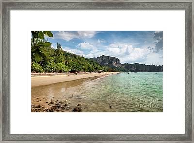 Coast Of Ko Lanta Framed Print by Adrian Evans