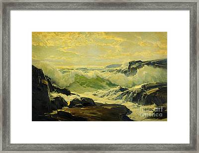 Coast Of Maine  Framed Print by Celestial Images
