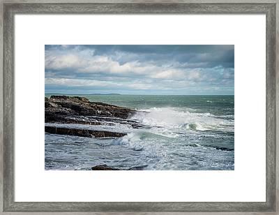 Coast Off The Hook Lighthouse Framed Print