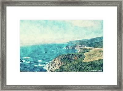 Coast Painting-15 Framed Print