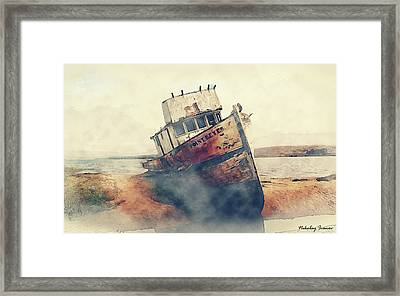 Coast Painting-17 Framed Print