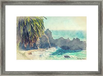 Coast Painting-19 Framed Print