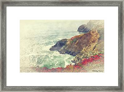 Coast Painting-20 Framed Print