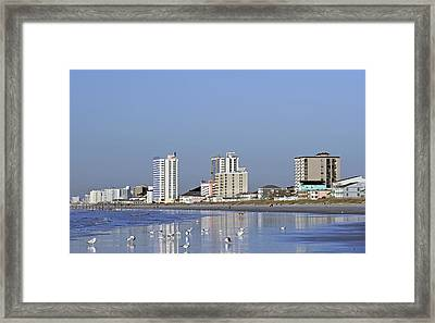 Coastal Architecture Framed Print
