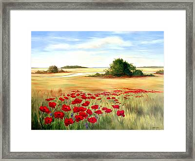 Coastal Beauties Framed Print