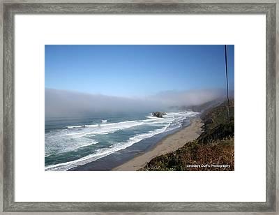 Coastal Beauty Framed Print by Lindsay Duff