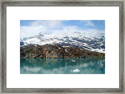 Coastal Beauty Of Alaska 5 Framed Print