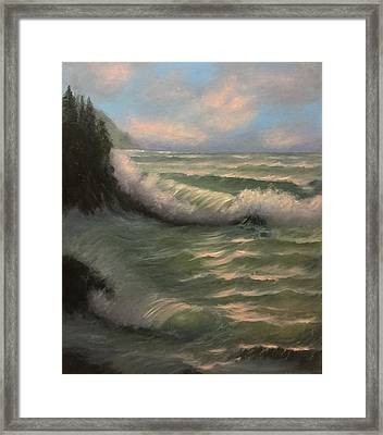 Coastal Breeze Framed Print
