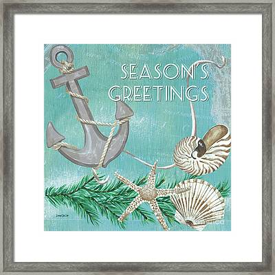 Coastal Christmas 4 Framed Print