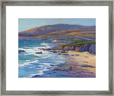 Coastal Cruising 8 / San Simeon Framed Print